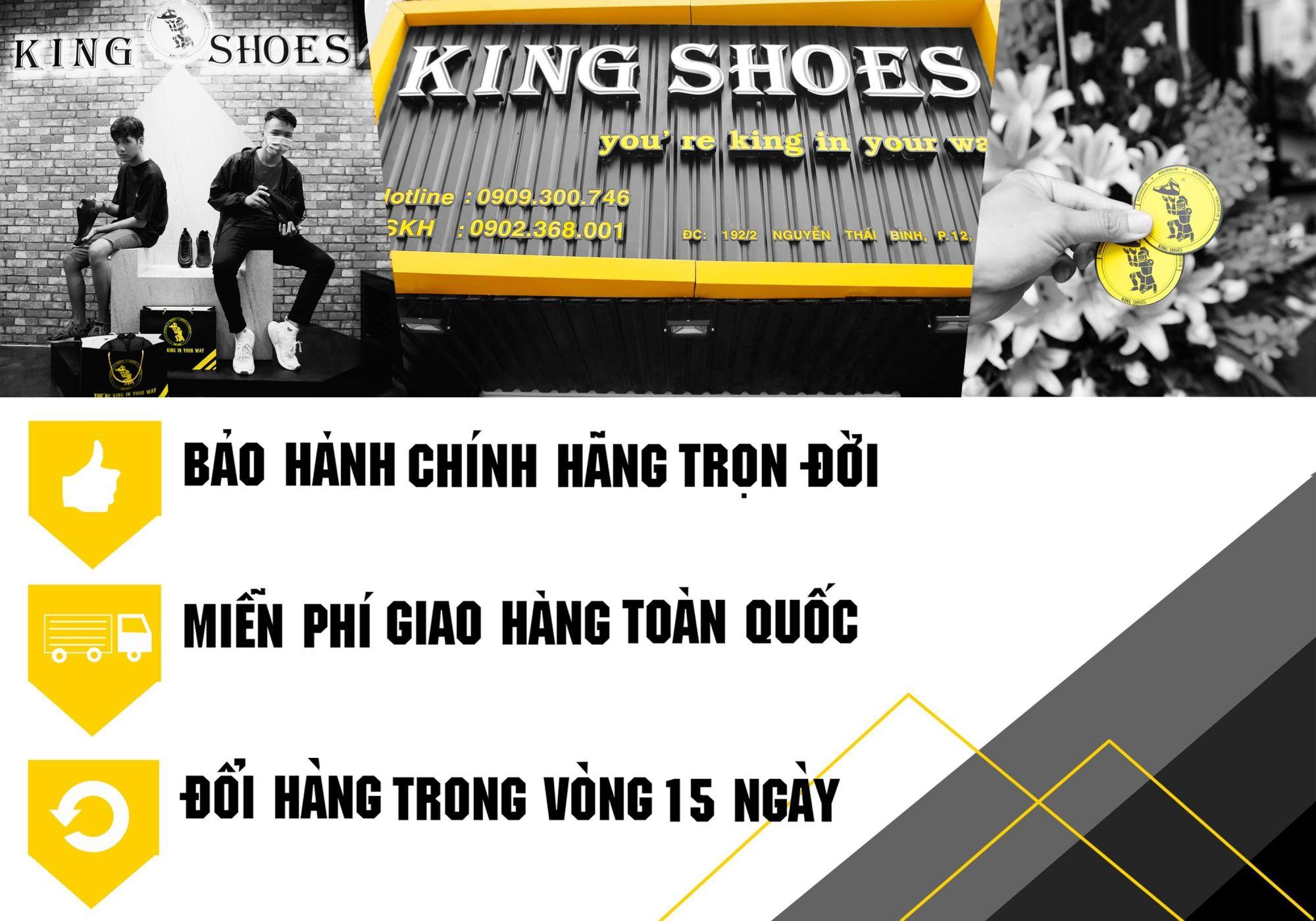 King Shoes chế độ bảo hành