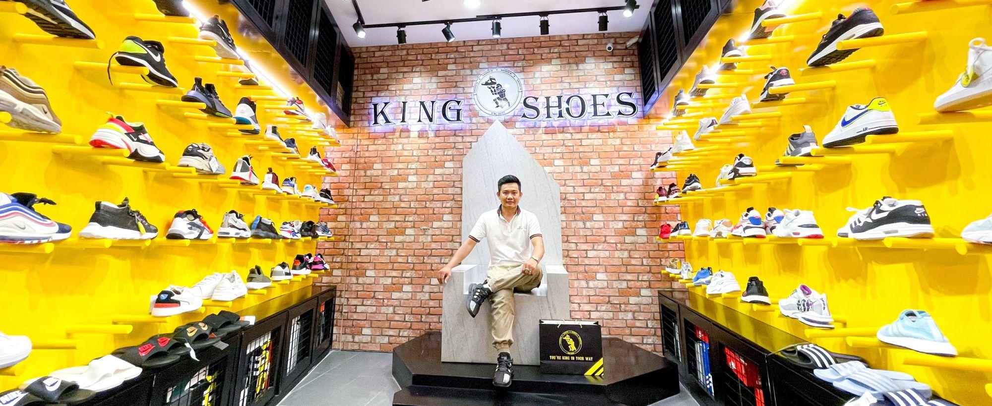 Tân Bình mua giày thể thao chạy bộ -tập gym adidas/ nike chính hãng ở đâu? đến KING SHOES SNEAKER REAL HCM