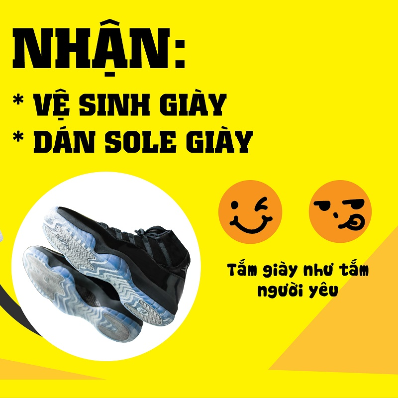 Dán Sole đế giày chuyên nghiệp